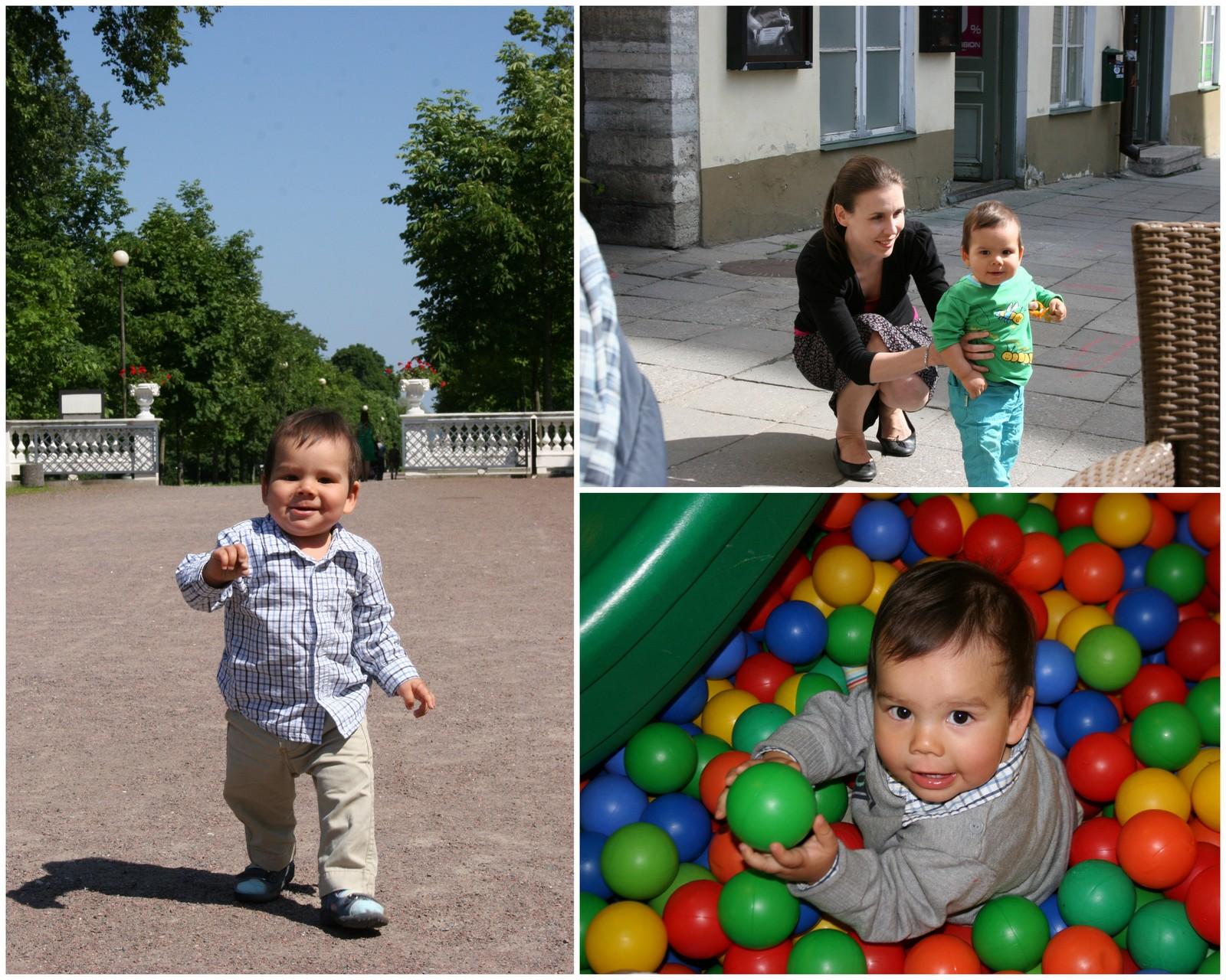 Tallinna lasten kanssa - muistoja vuodelta 2010.