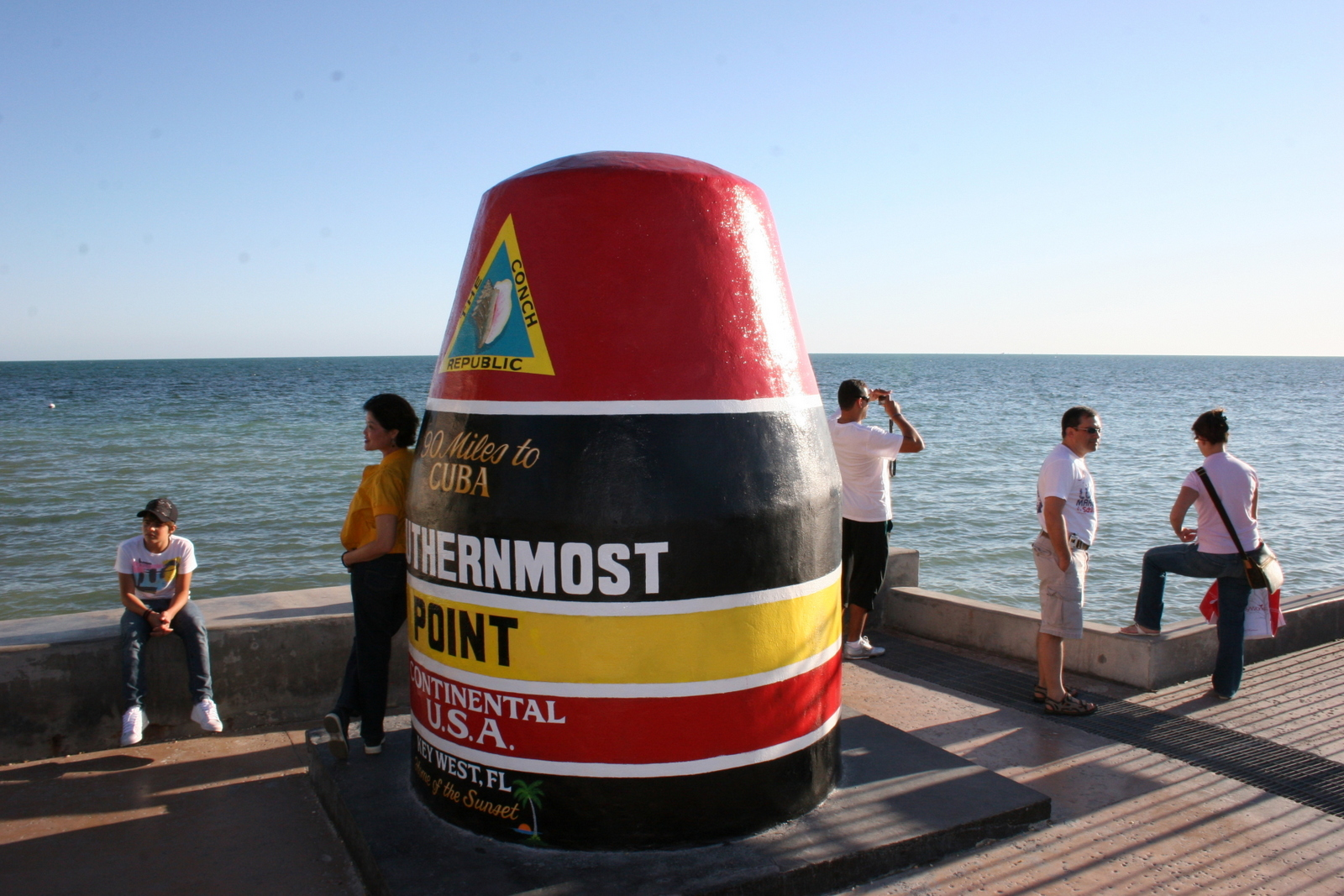 Key West, USA:n eteläisin kärki. Tästä on 90 mailia eli noin 145 kilometriä Kuubaan! Yhteistyössä: Norwegianin luottokortti.
