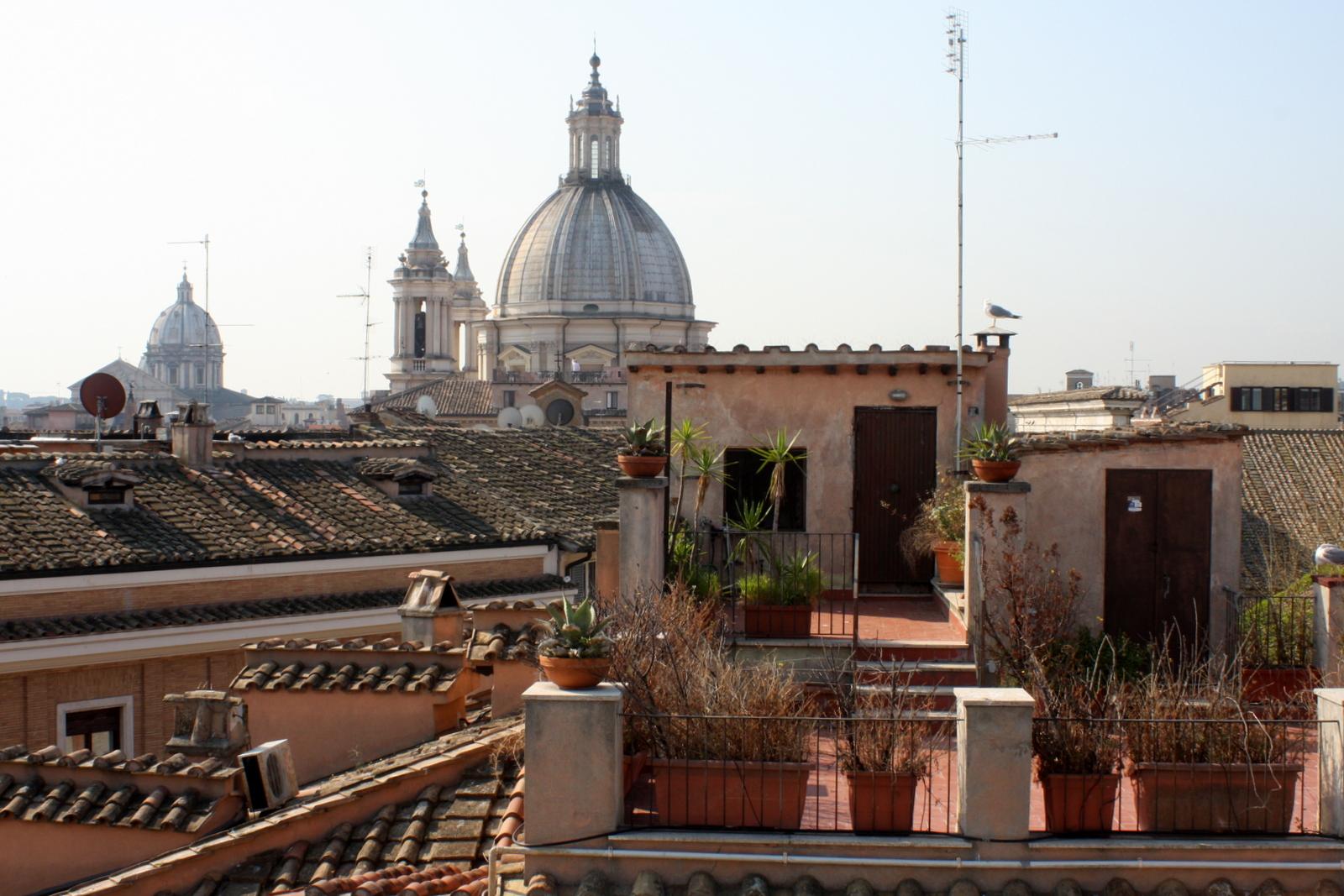 Antica Dimora delle Cinque Lune, Rooma kattoterassi