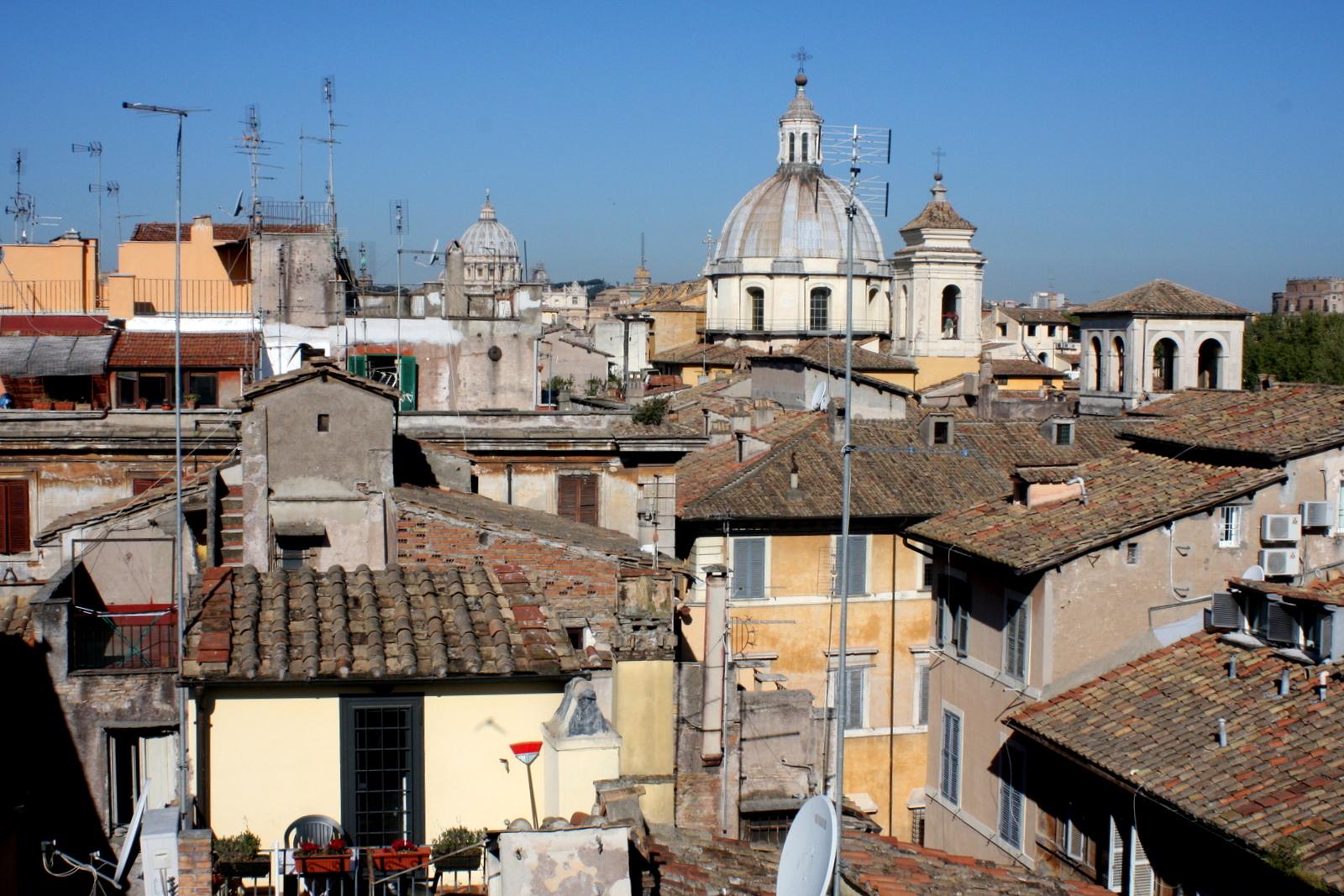 Relais Arco della Pace, Rooma kattoterassi