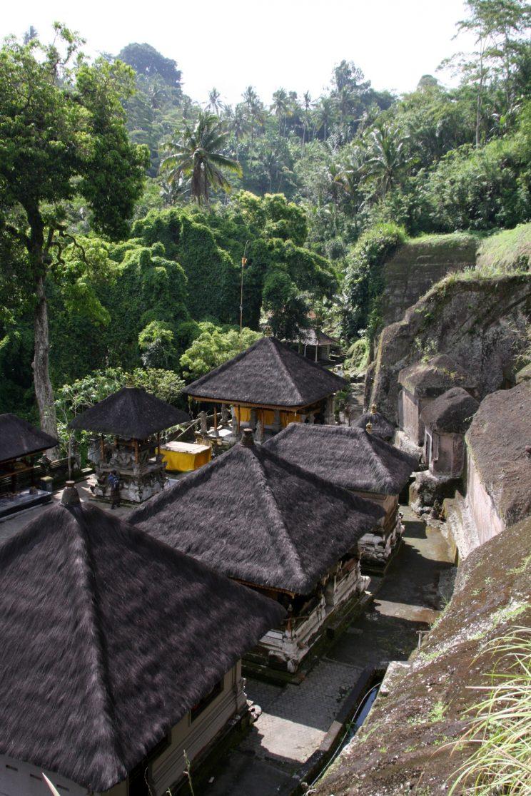 Kuvia Balilta. Näkymä Gunung Kawi -temppelille.