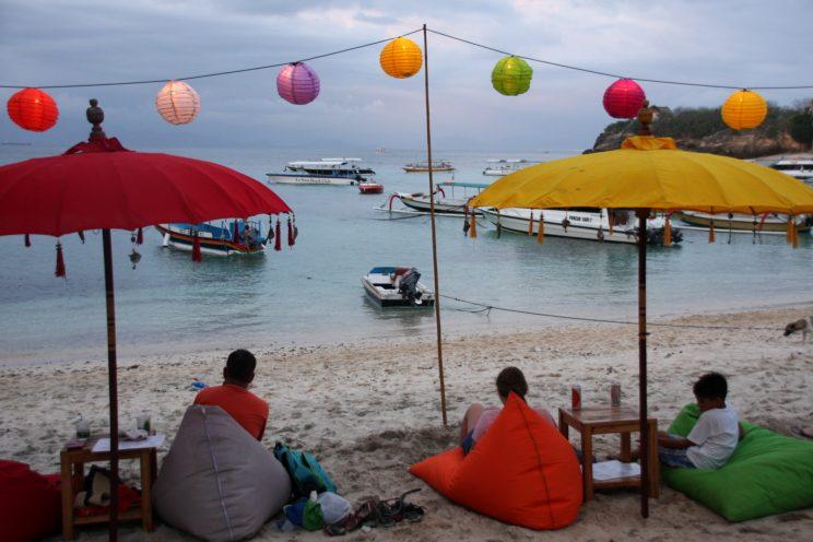 Kuvia Balilta. Nusa Lembongan, Mushroom Beach.
