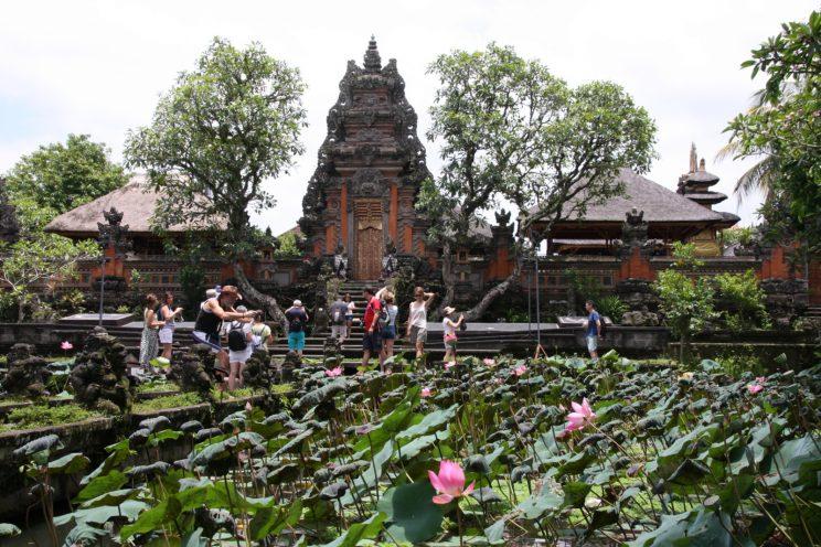Ubud - Saraswati-temppeli