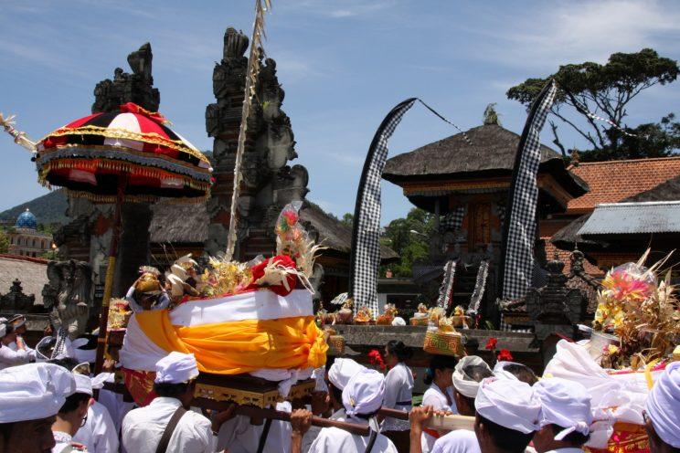 Bali, temppeliseremonia: Pura Ulun Danu Bratan