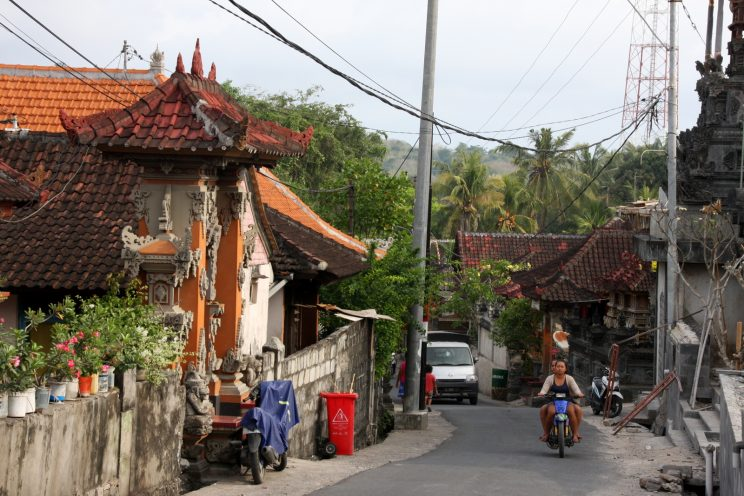 Nusa Lembongan, Bali. Mäki.