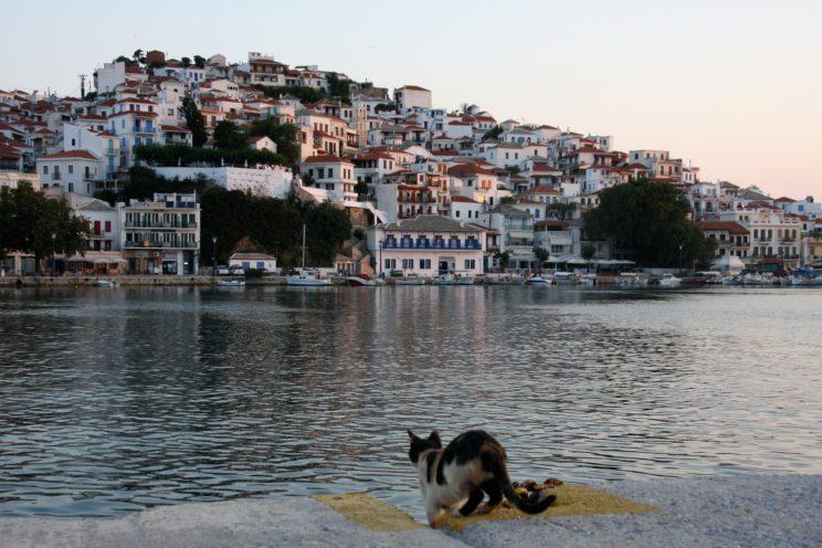 Skopelos, Kreikka.