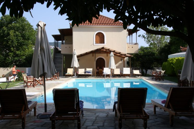 Skopelos, Aurinkomatkojen hotelli Sun Accommodations