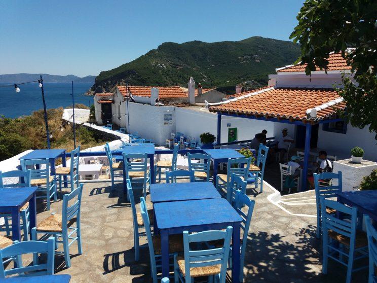 Skopelos, näköalat: Anatolia