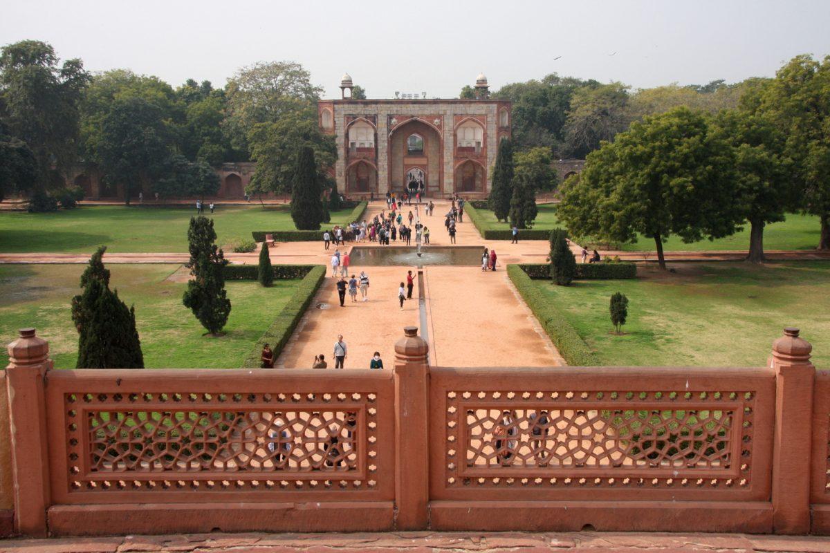 Delhi, Humayunin hautamausoleumi