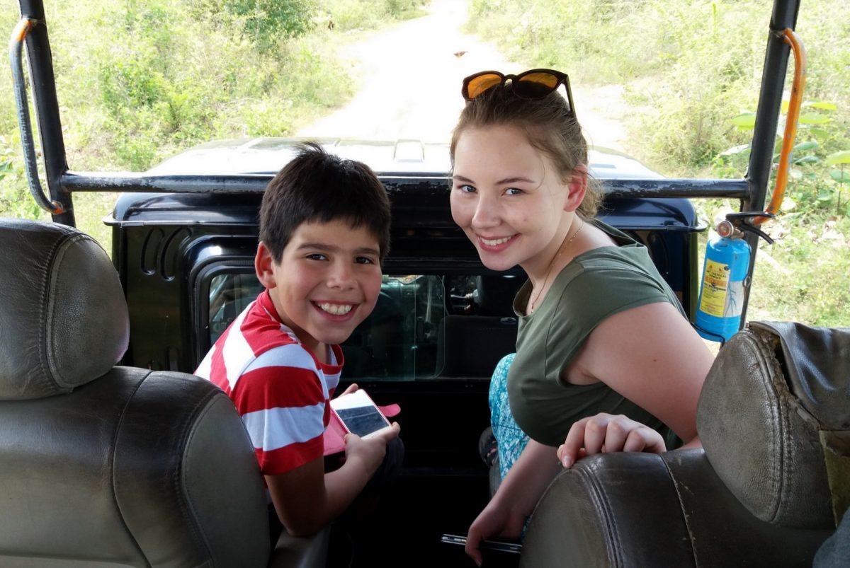 Udawalawe National Park - innokkaat bongaajat