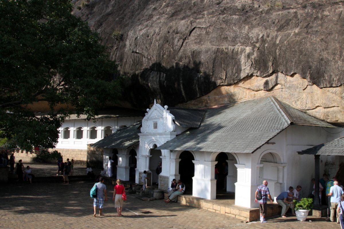 Dambulla: temppeli