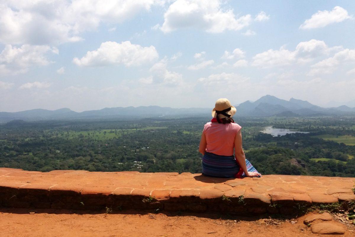 Sigiriya: maisemaa
