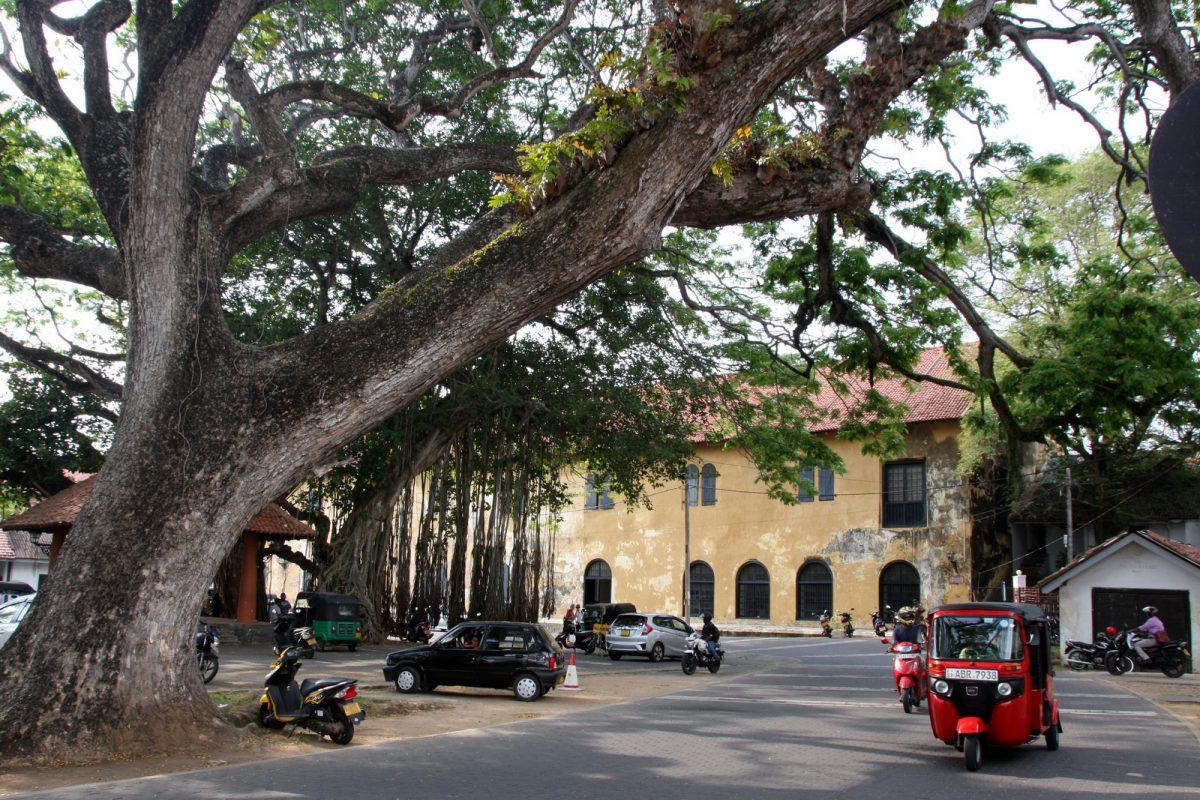Galle, Sri lanka - keskusaukio
