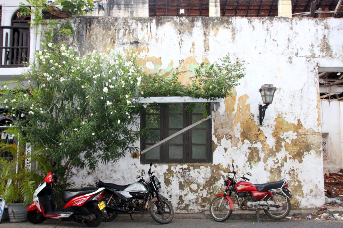 Galle, Sri lanka - rapistunut seinä