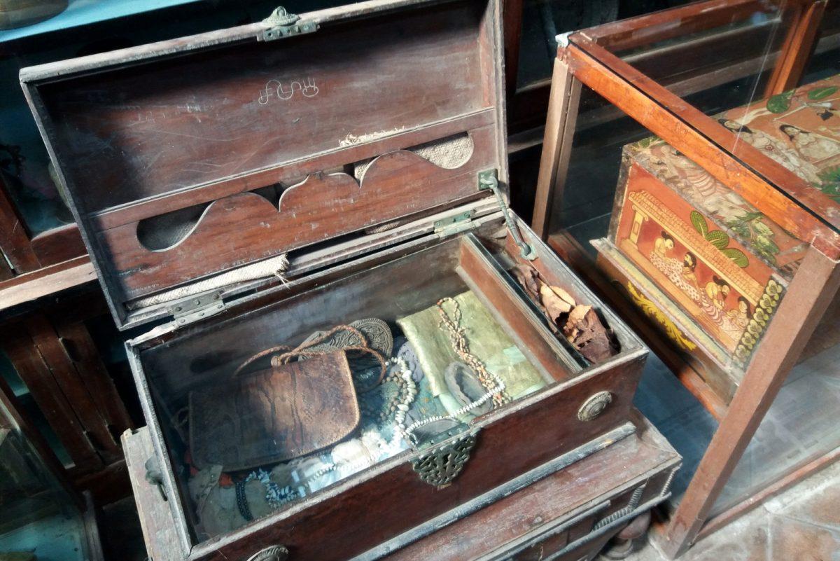 Vanhaa tavaraa museossa