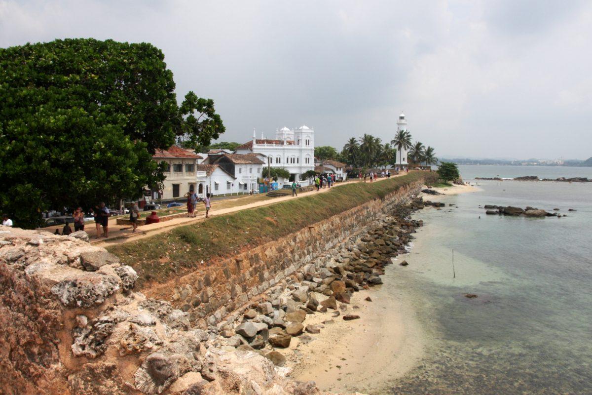 Galle, Sri lanka - lisää muuria
