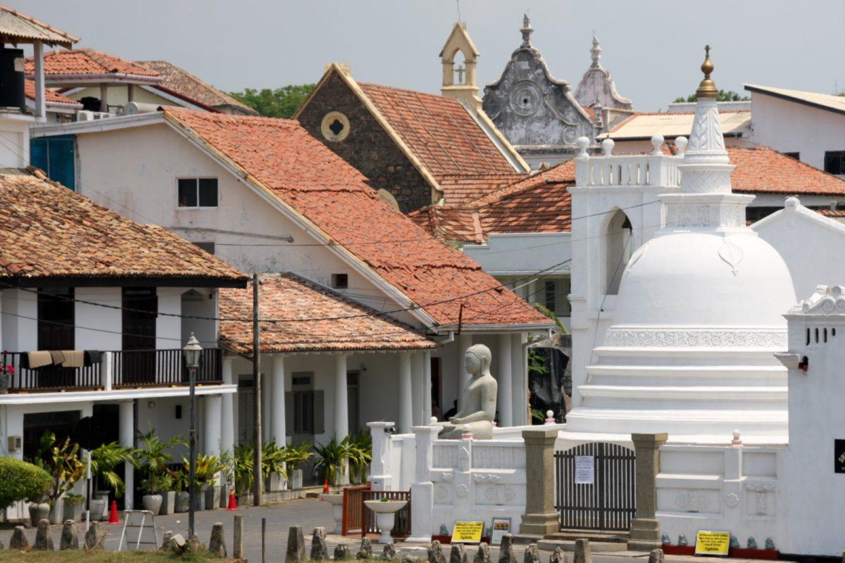 Galle, Sri lanka - temppeli