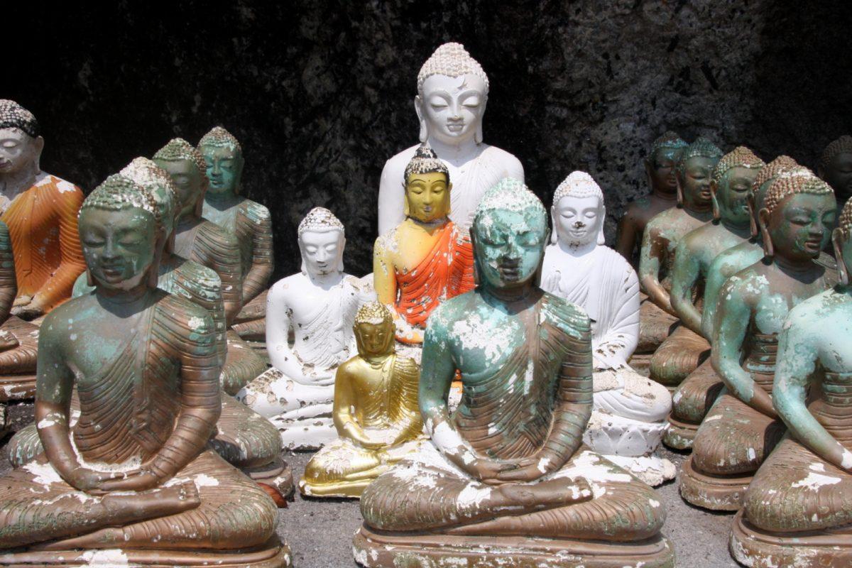 Buddhalainen temppeli Yatagala Raja Maha Viharaya