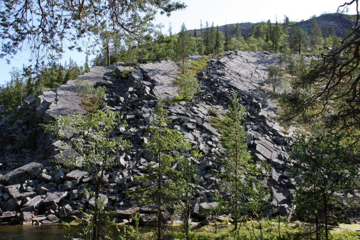 Isokuru, geologiaa.