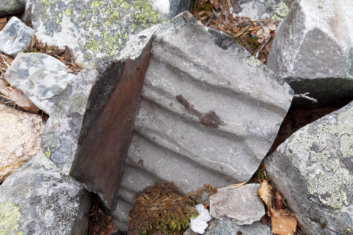 Noitatunturi - teräviä kiviä.