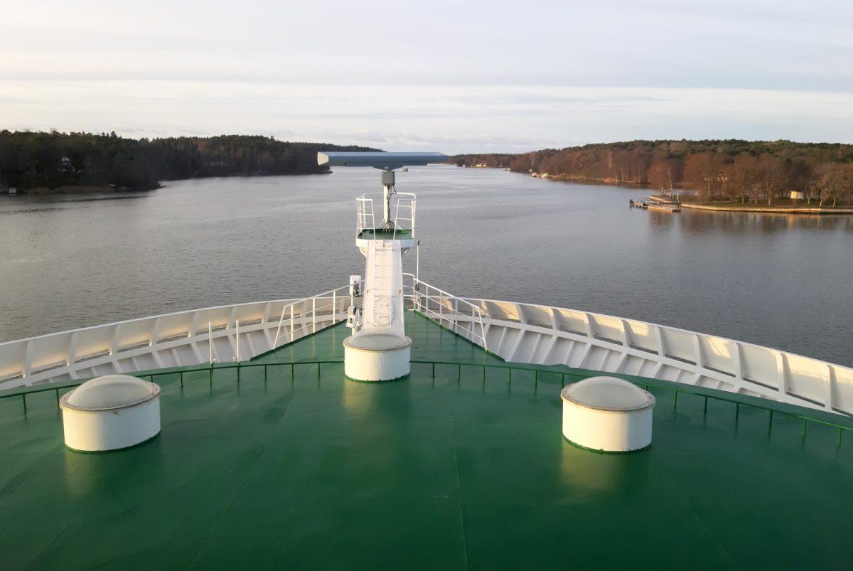 Viking Amorella matkalla Ahvenanmaalle.