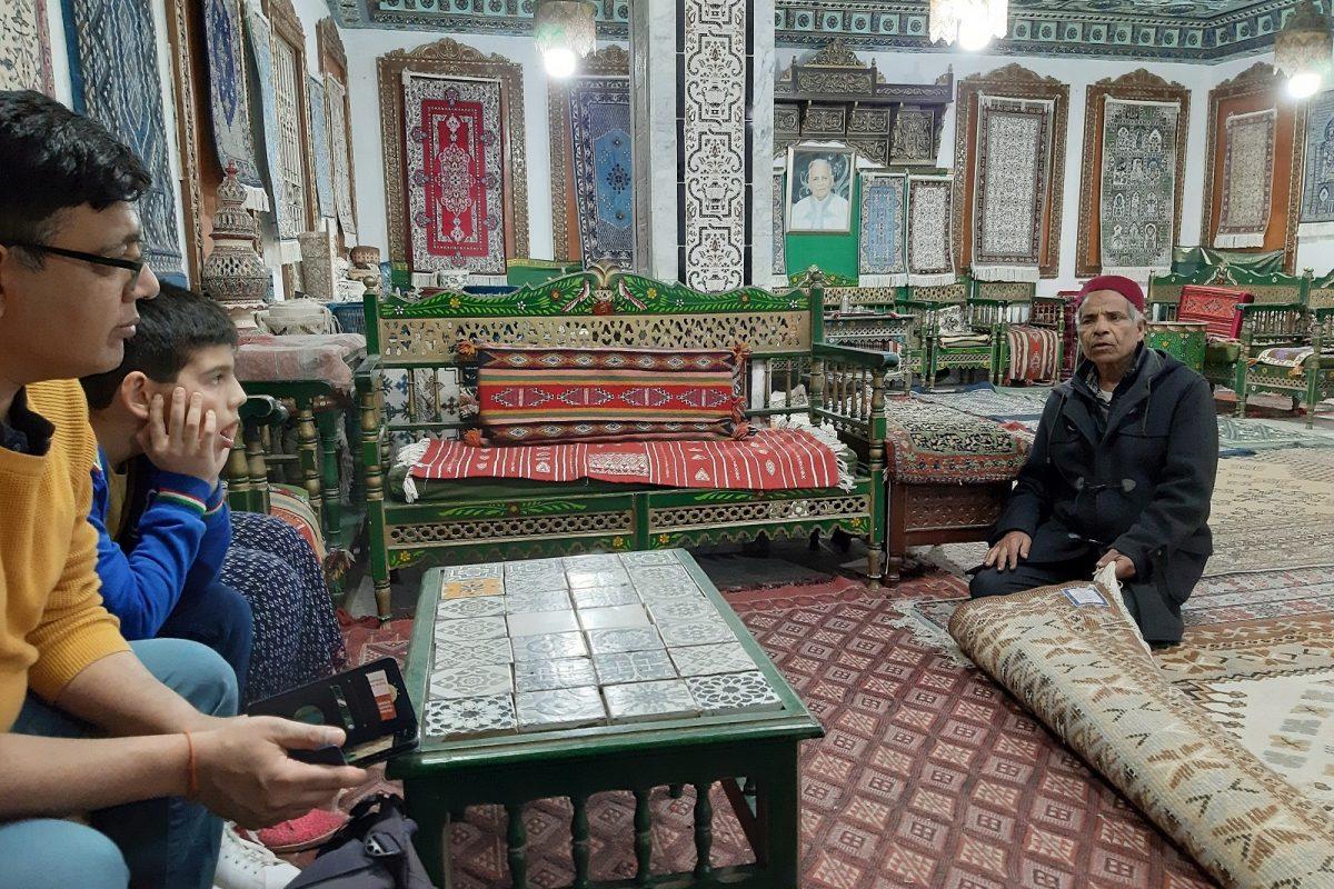 Tunisia, Kairouan: mattokauppa