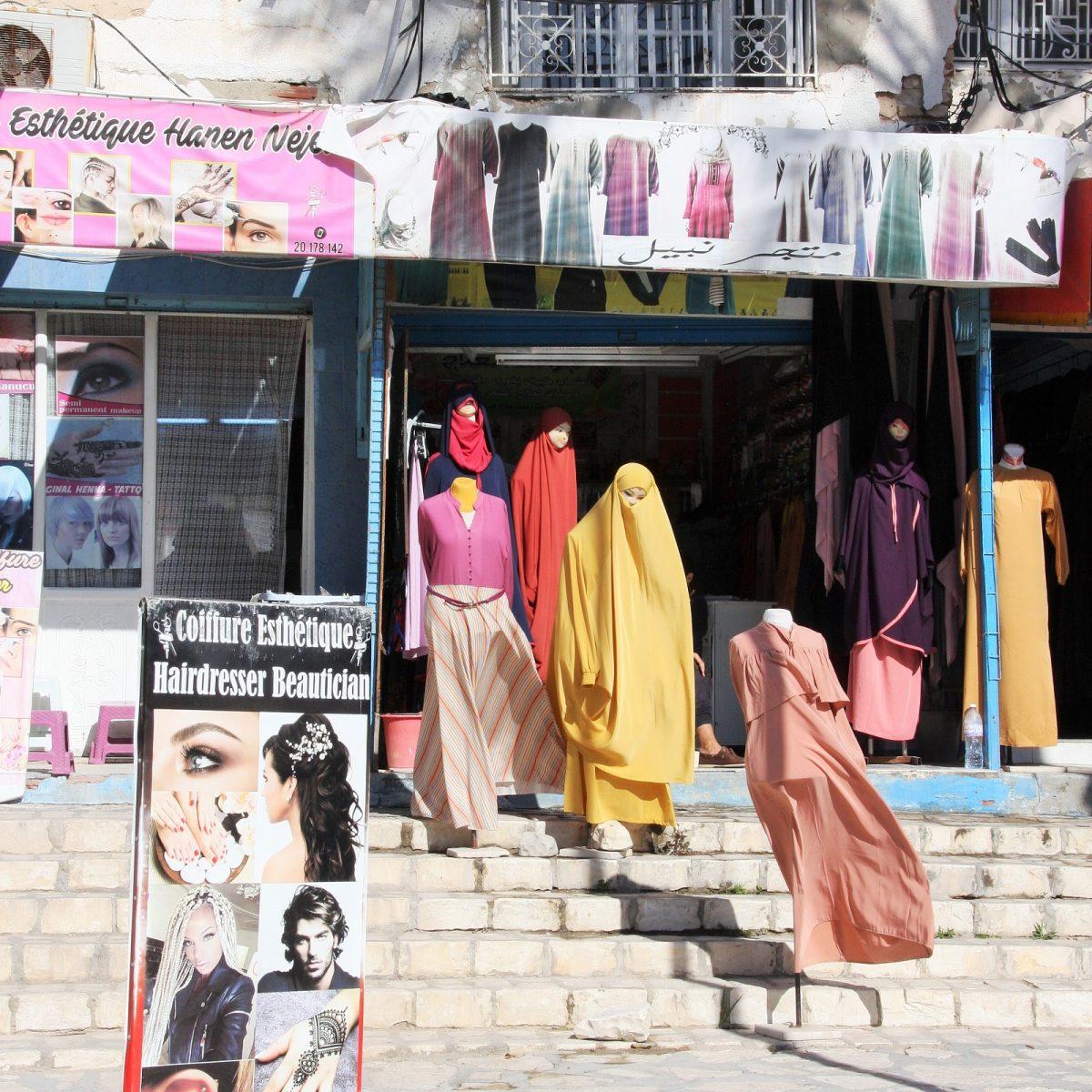 Tunisialaista muotia