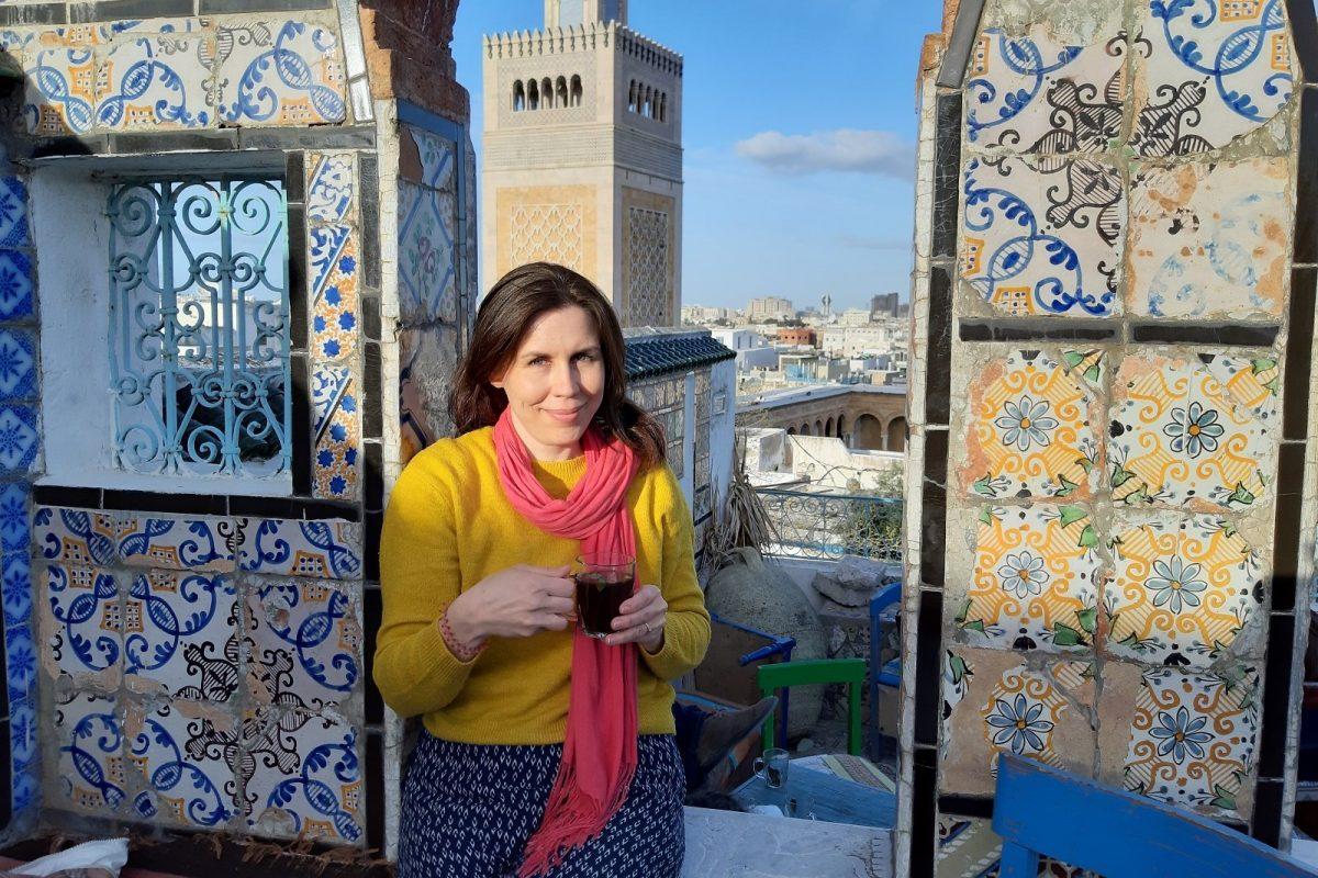 Tunisia, Tunis: Café Panorama