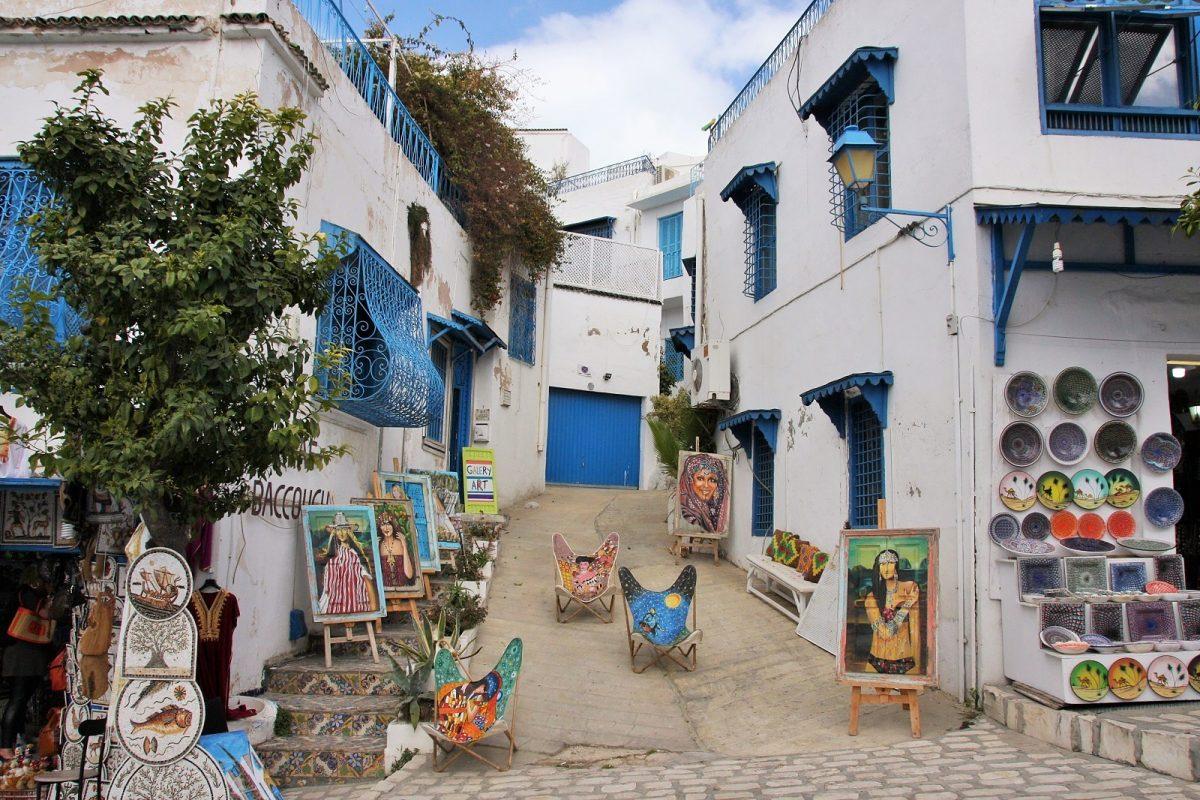Sidi Bou Said, taidegalleria