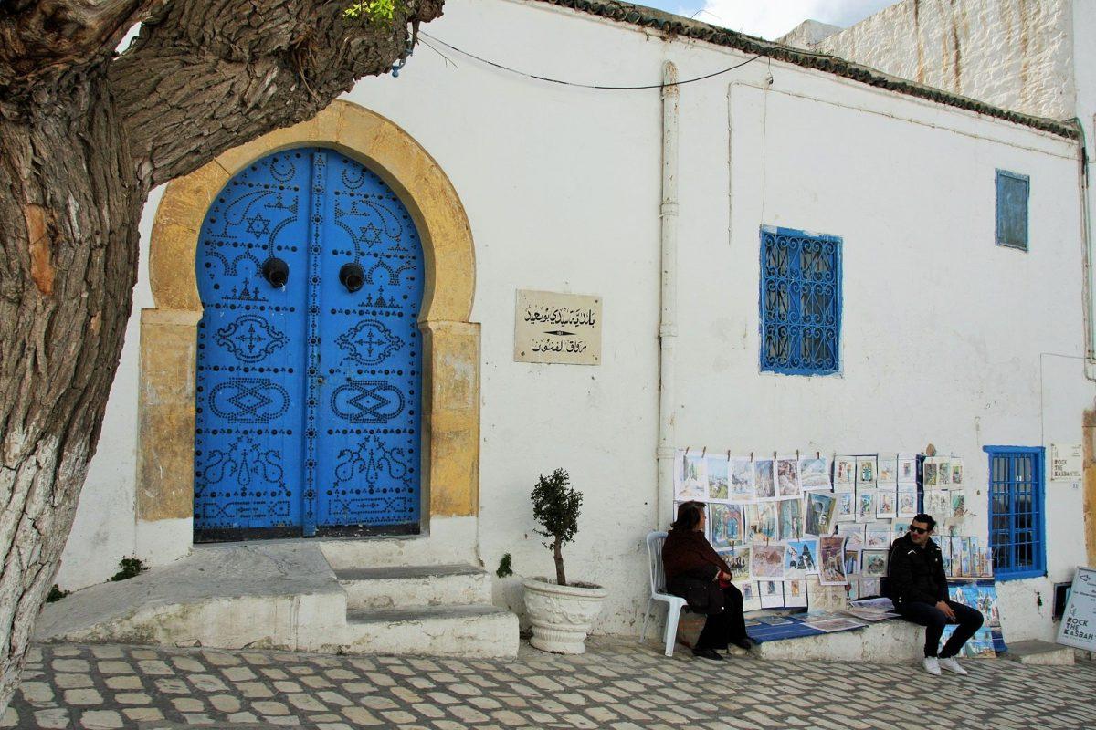 Sidi Bou Said, pääkatu