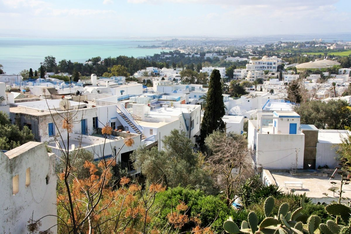 Sidi Bou Said, maisema