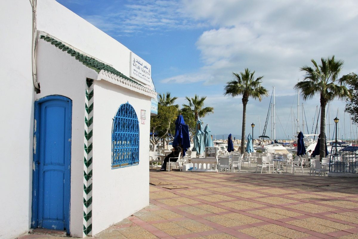 Sidi Bou Said, satama