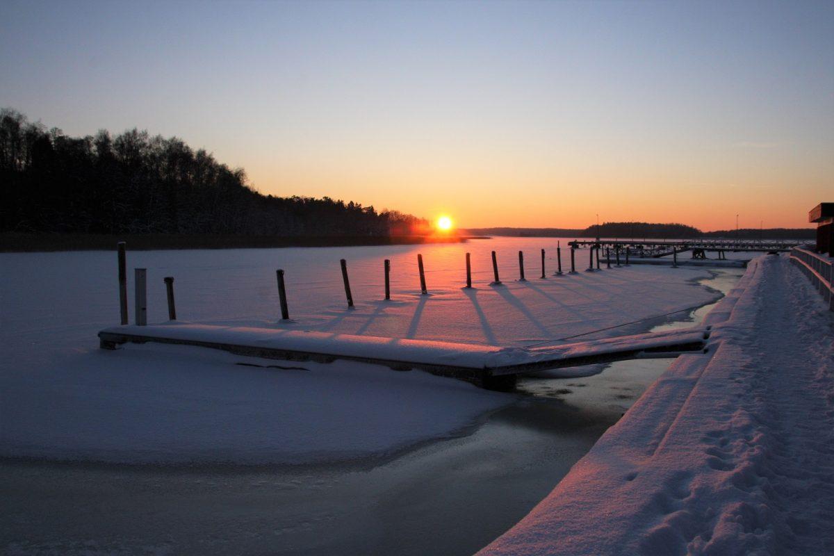 Tammisaari talvella